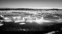 Faxi (Vatnsleysufoss) long exposure